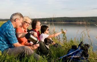 Wandern im Fränkischen Seenland