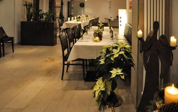 Wintergarten im Hotel