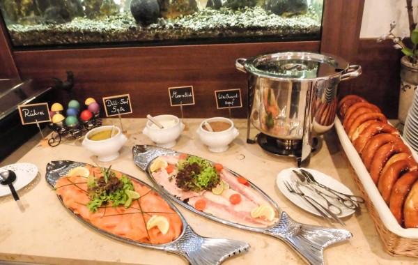 Restaurant Buffet für Familienfeier