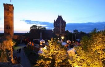 Feuertanz Mittelaltermarkt